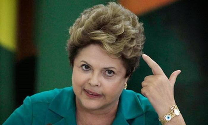 Dilma saindo