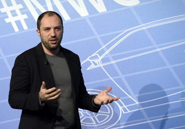 diretor executivo do WhatsApp, Jan Koum