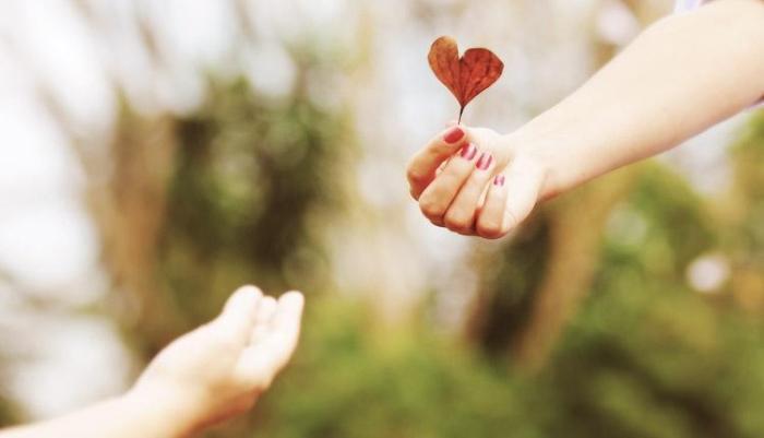 caridade amor em acao