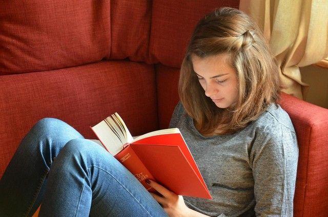 alguem lendo um livro